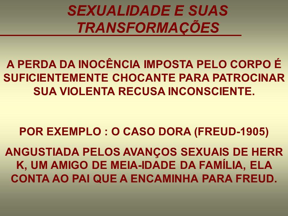 SEXUALIDADE E SUAS TRANSFORMAÇÕES