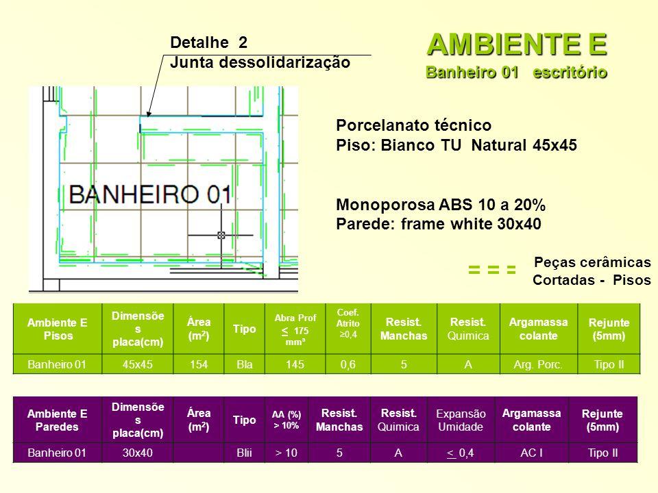 AMBIENTE E Banheiro 01 escritório
