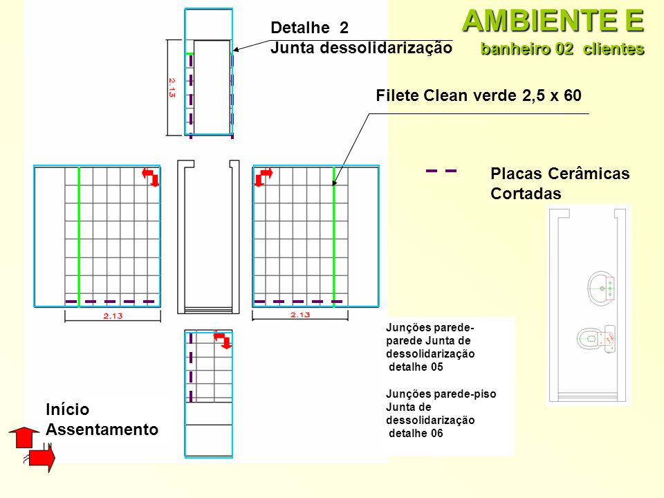 AMBIENTE E banheiro 02 clientes