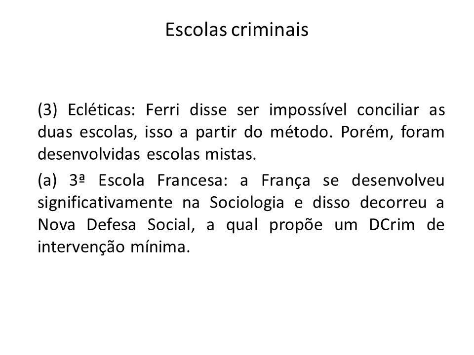 Escolas criminais