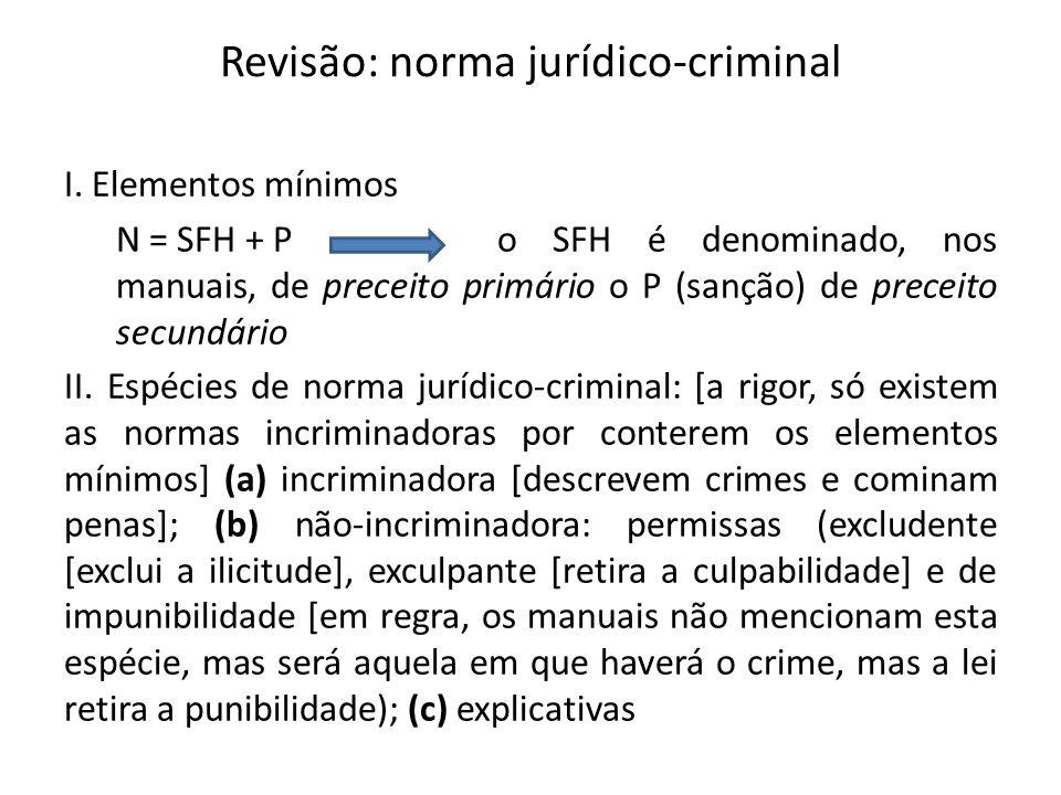 Revisão: norma jurídico-criminal