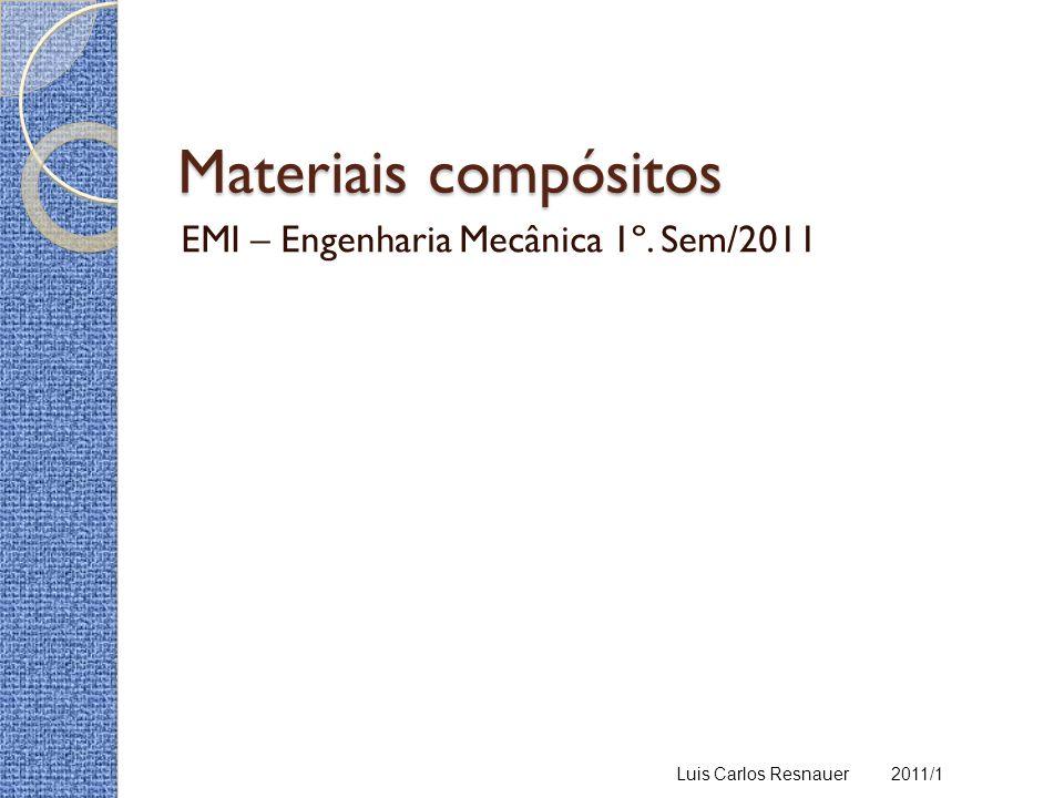 EMI – Engenharia Mecânica 1º. Sem/2011