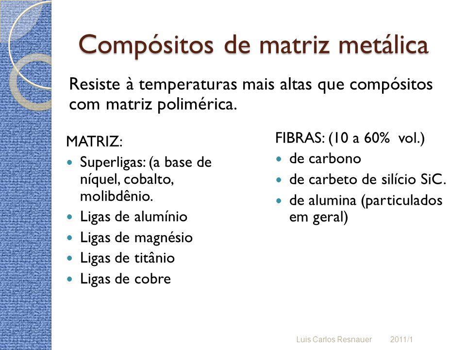 Compósitos de matriz metálica