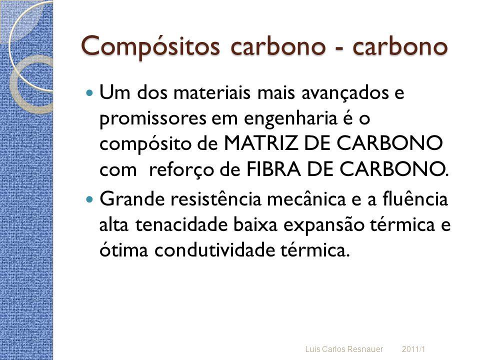Compósitos carbono - carbono
