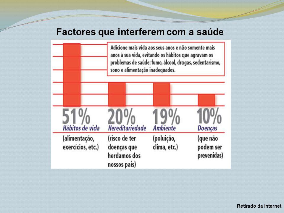 Factores que interferem com a saúde