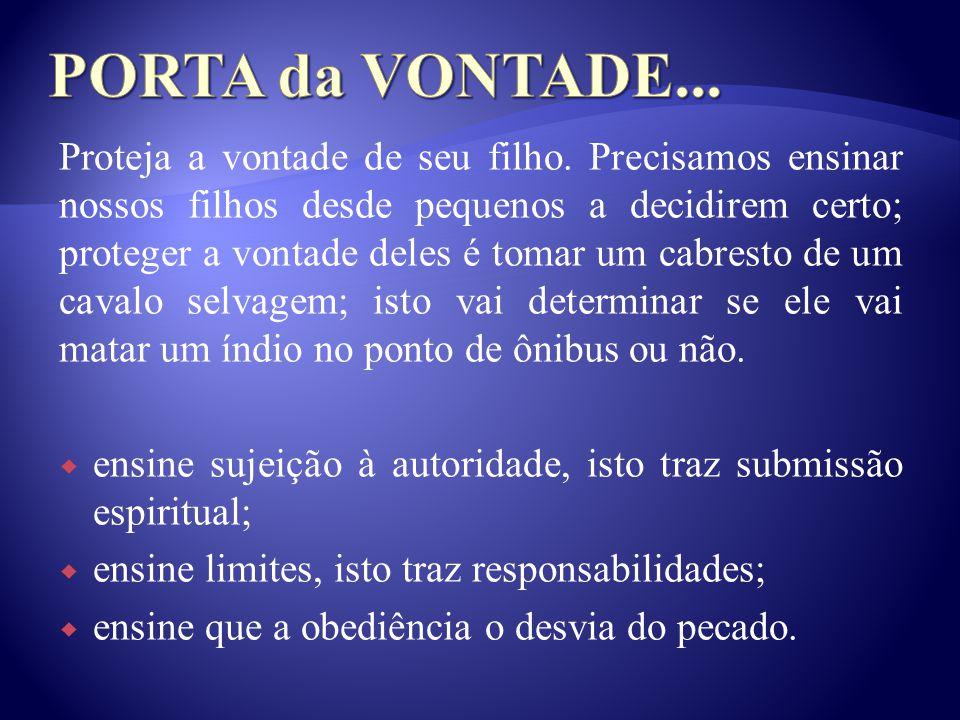 PORTA da VONTADE...