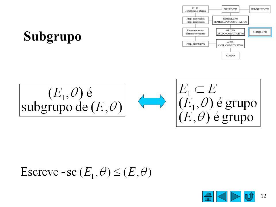 Subgrupo