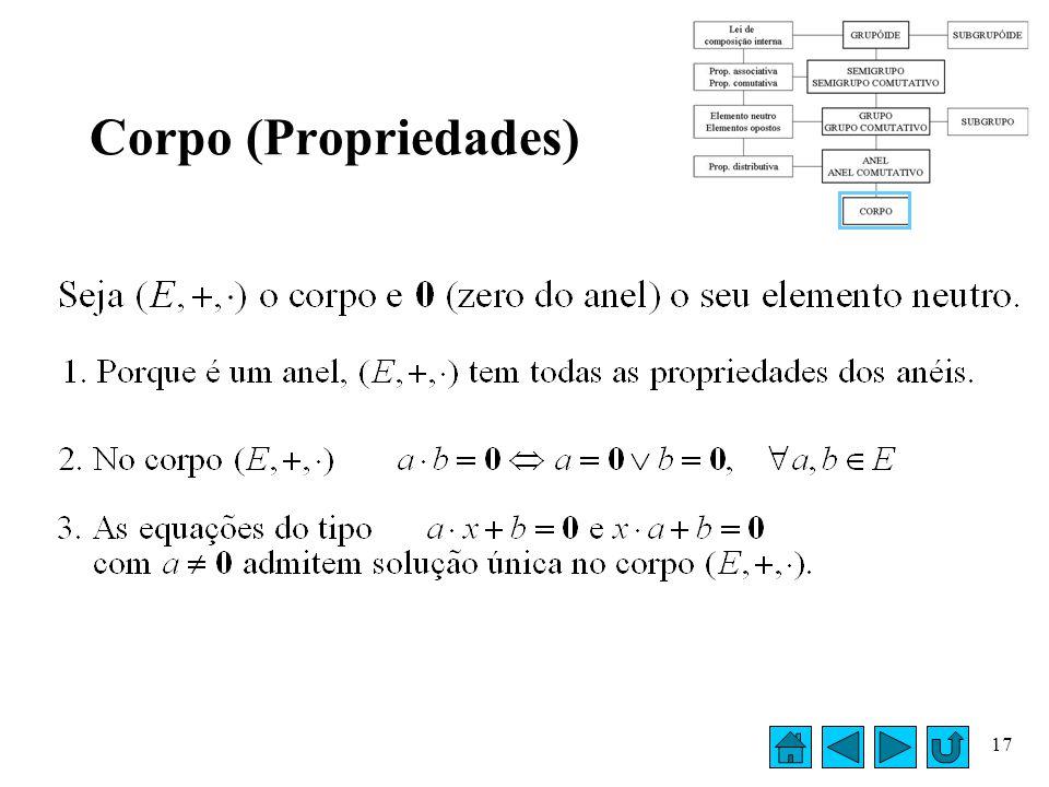 Corpo (Propriedades)