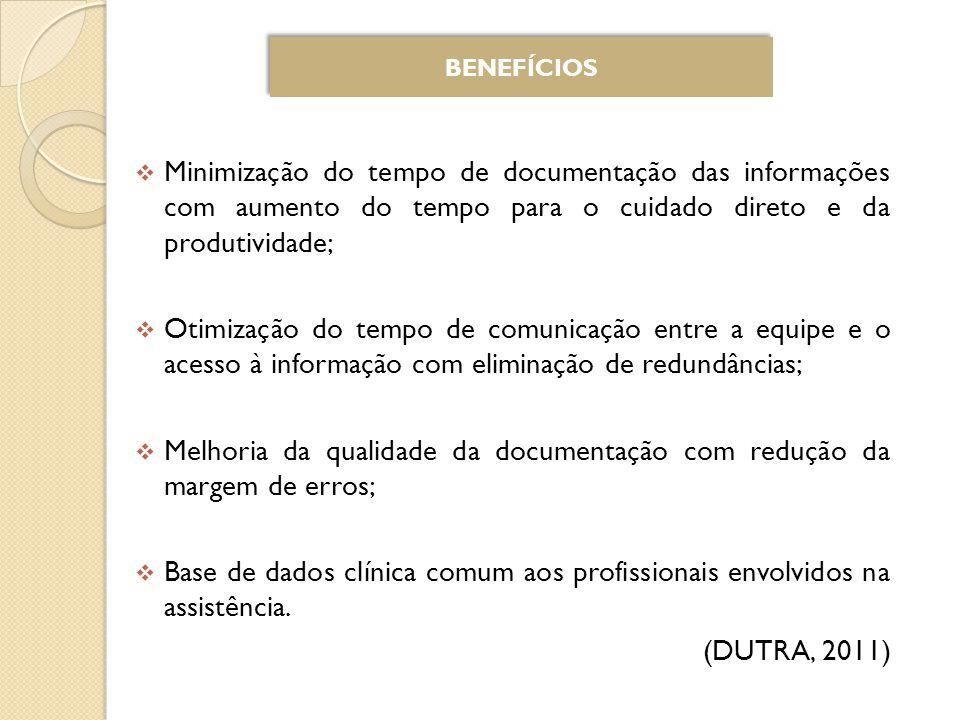 Melhoria da qualidade da documentação com redução da margem de erros;