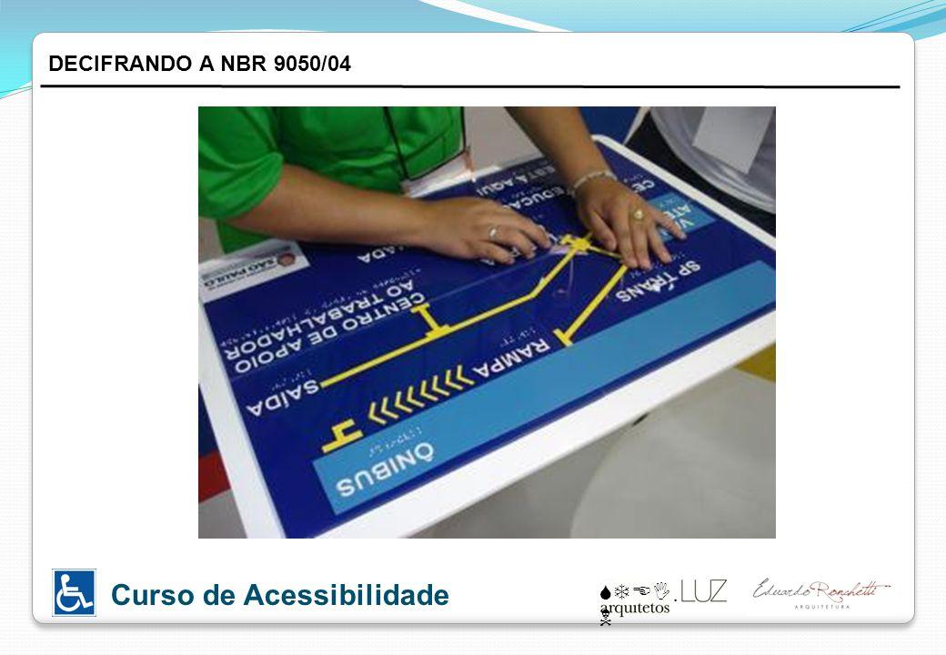 DECIFRANDO A NBR 9050/04