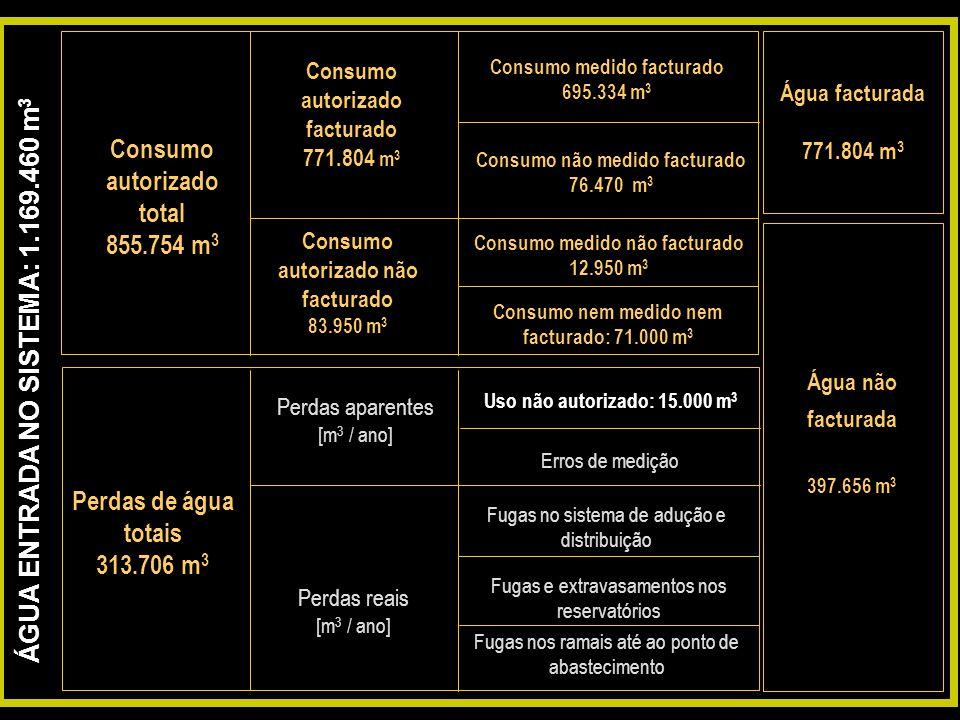 Consumo autorizado total
