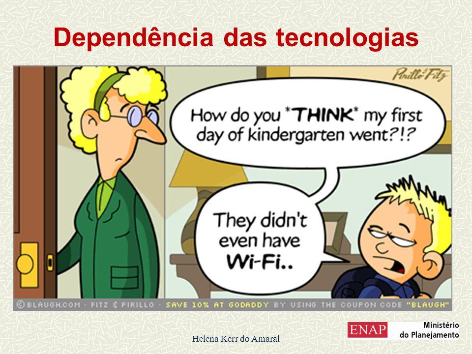 Dependência das tecnologias