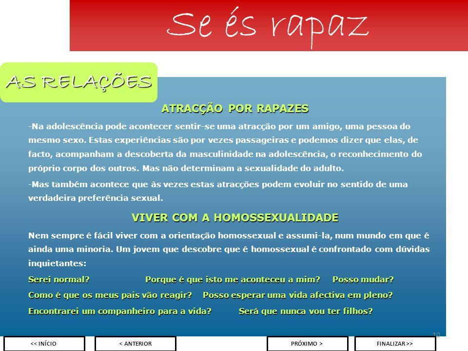 VIVER COM A HOMOSSEXUALIDADE