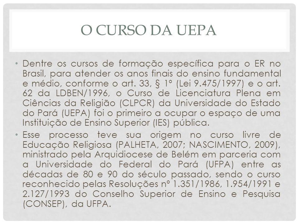 O CURSO DA UEPA
