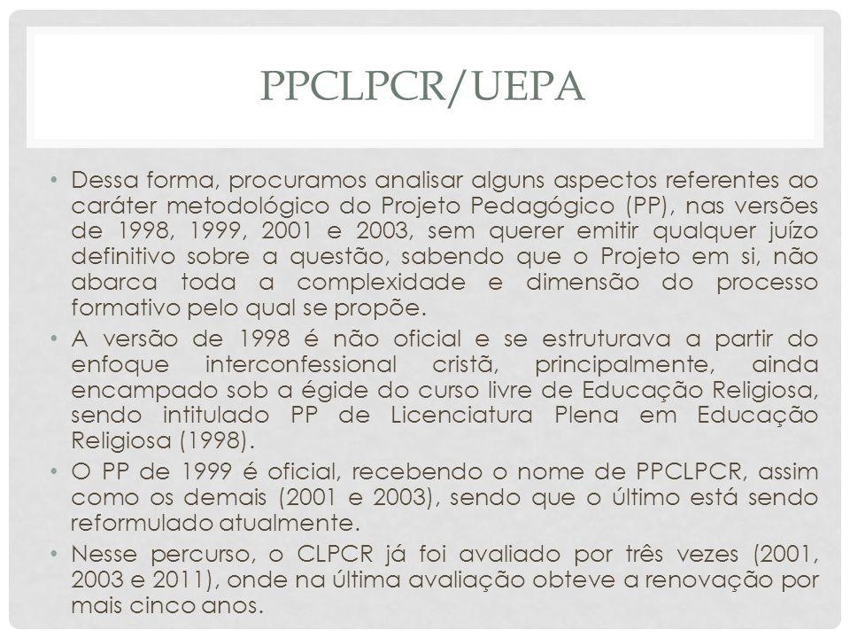 Ppclpcr/uepa