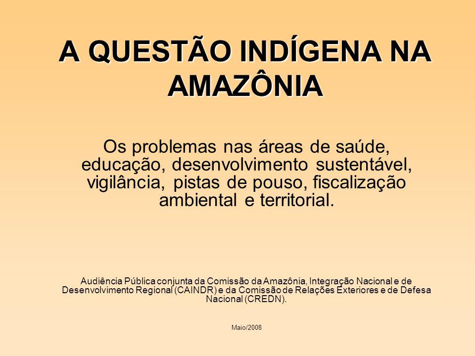 A QUESTÃO INDÍGENA NA AMAZÔNIA