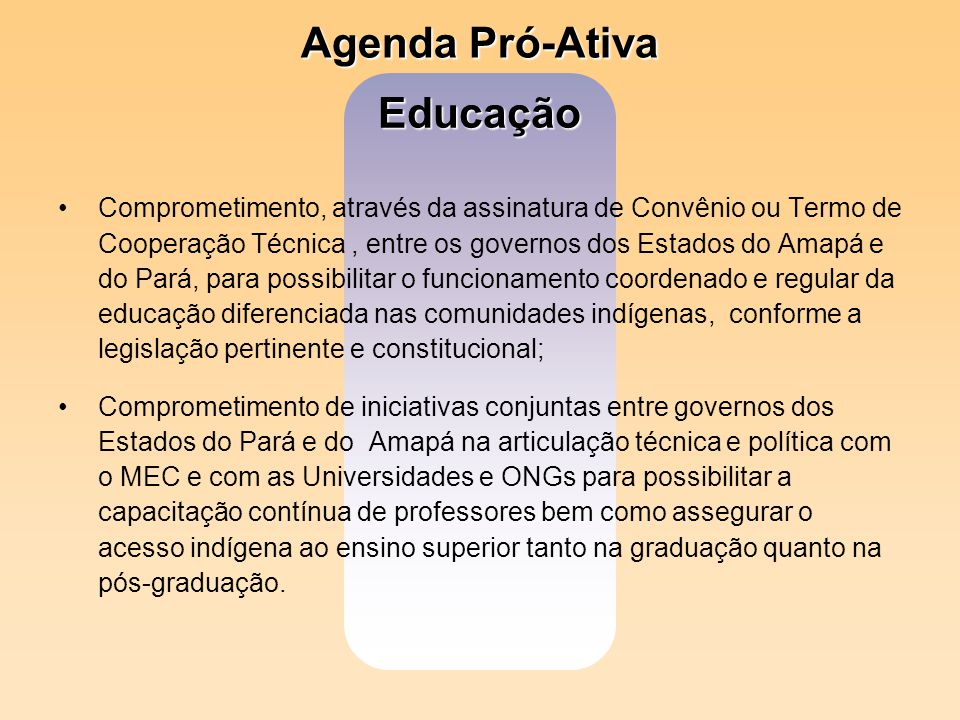 Agenda Pró-Ativa Educação