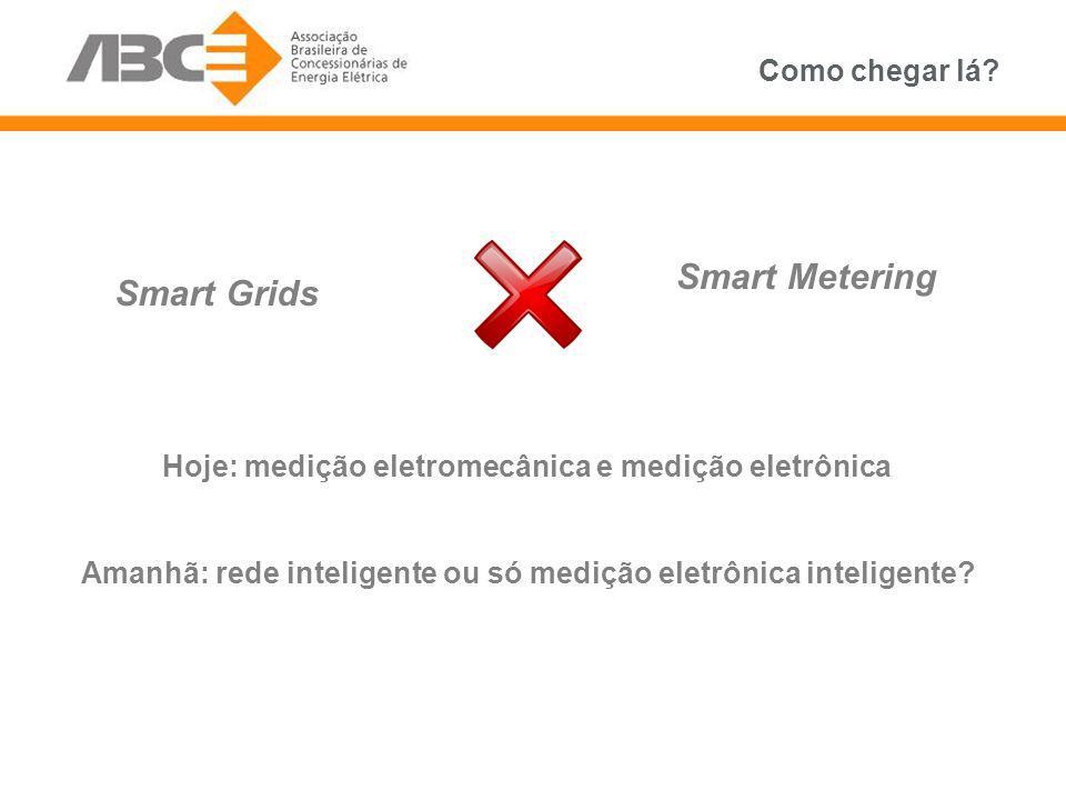 Smart Metering Smart Grids Como chegar lá