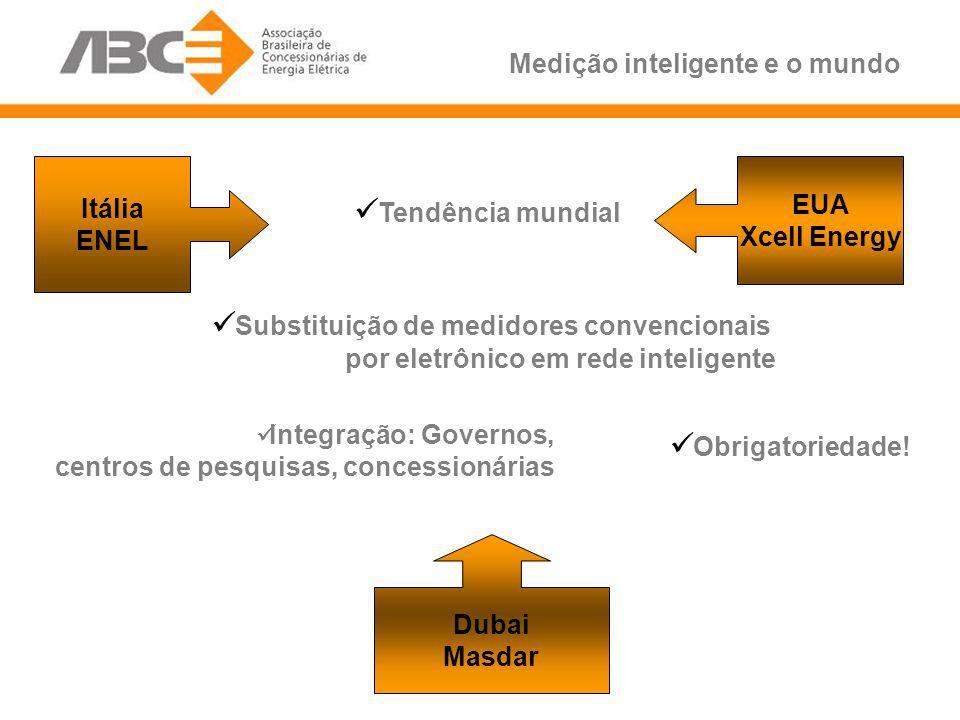 Substituição de medidores convencionais