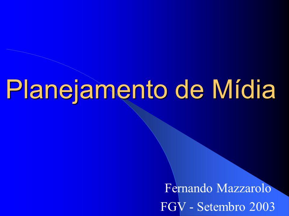 Fernando Mazzarolo FGV - Setembro 2003