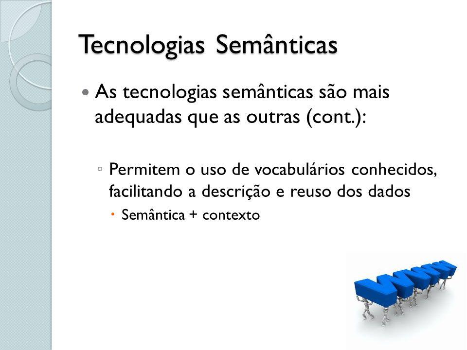 Tecnologias Semânticas