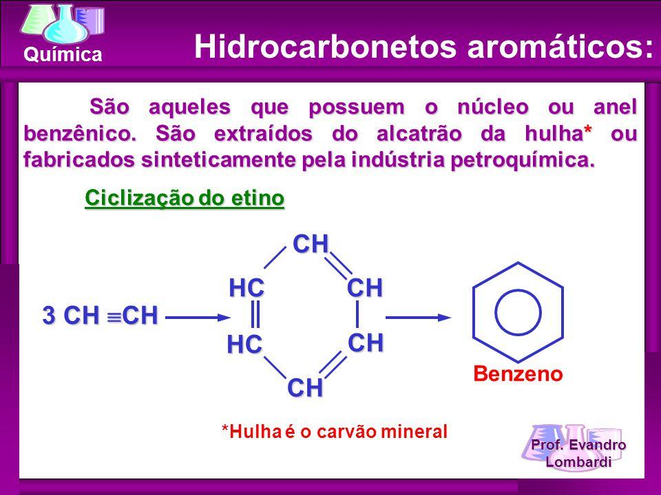 Hidrocarbonetos aromáticos: