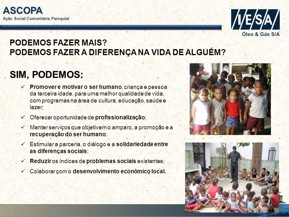 ASCOPA Ação Social Comunitária Paroquial