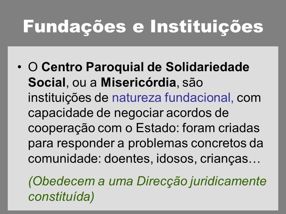 Fundações e Instituições