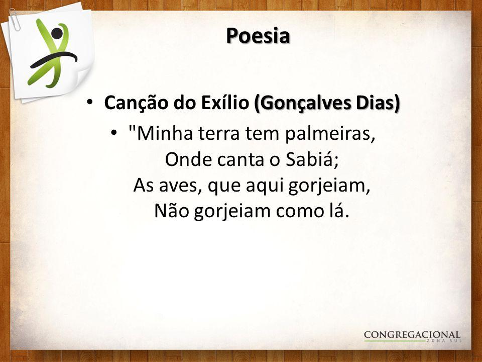Canção do Exílio (Gonçalves Dias)
