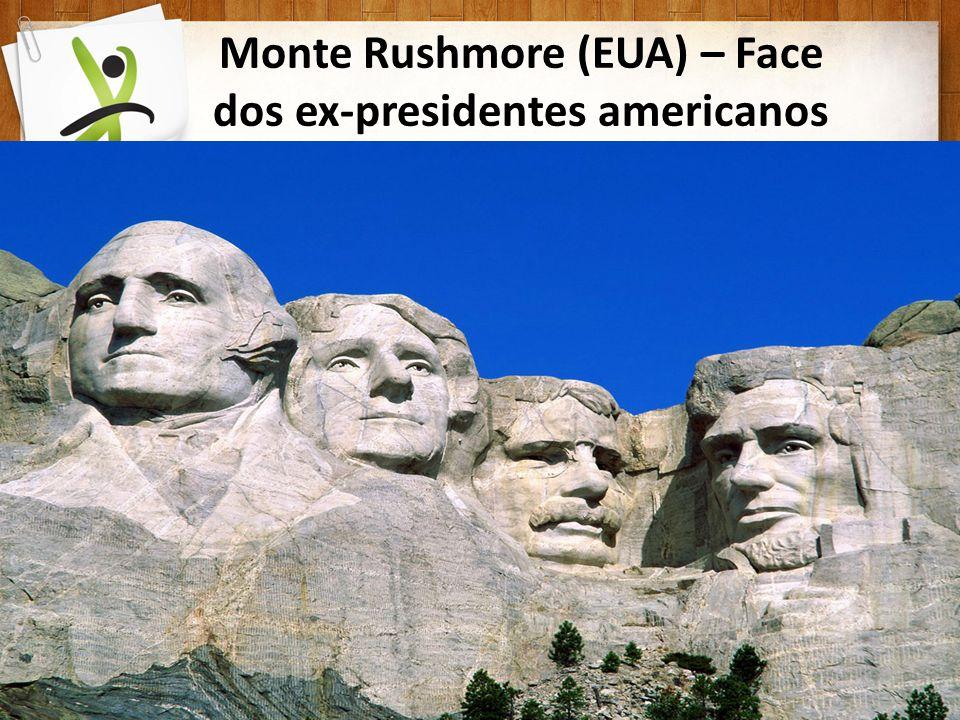 Monte Rushmore (EUA) – Face dos ex-presidentes americanos