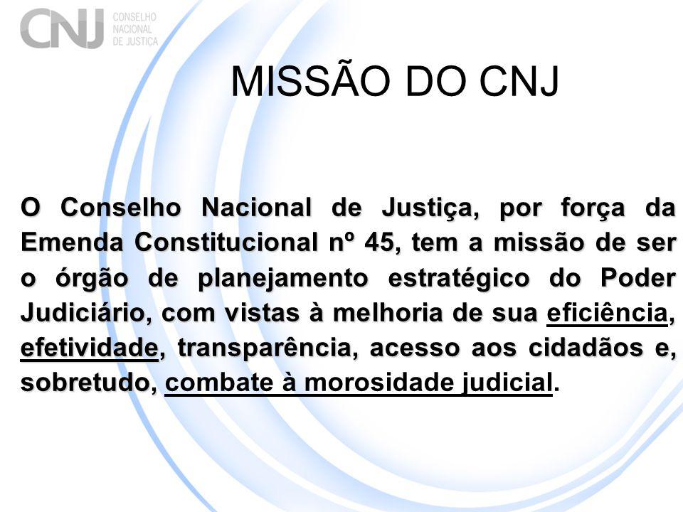 MISSÃO DO CNJ