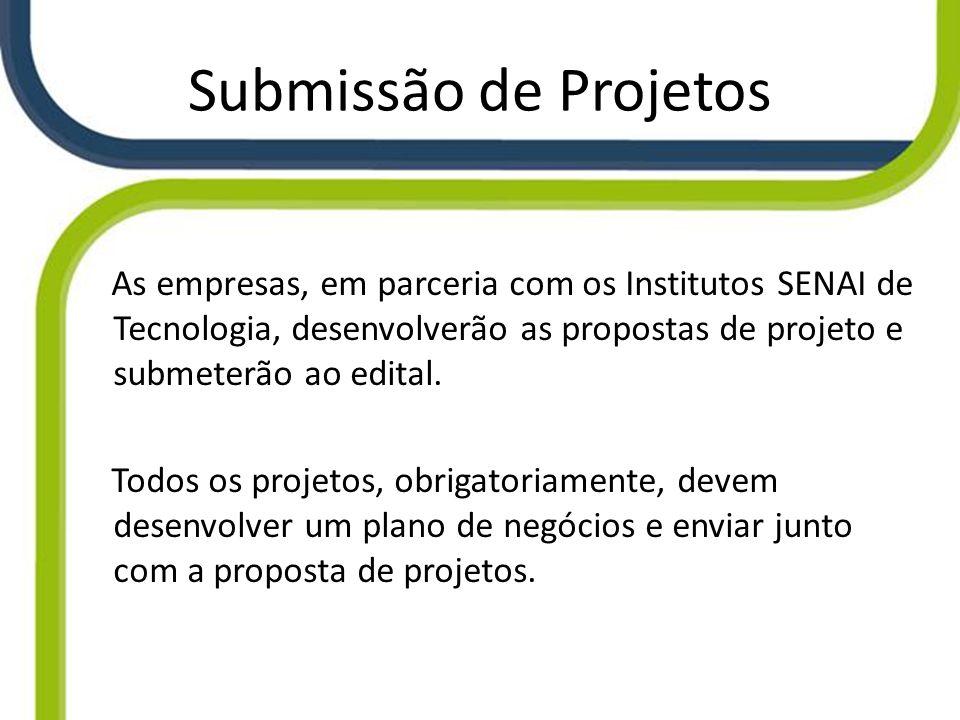 Submissão de Projetos