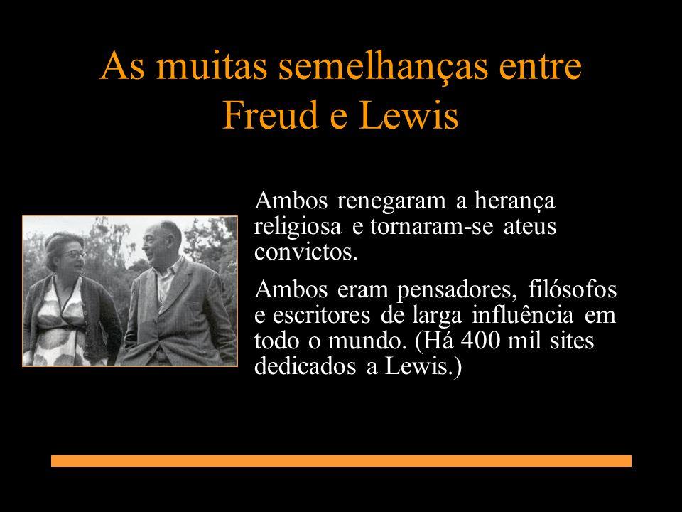 As muitas semelhanças entre Freud e Lewis