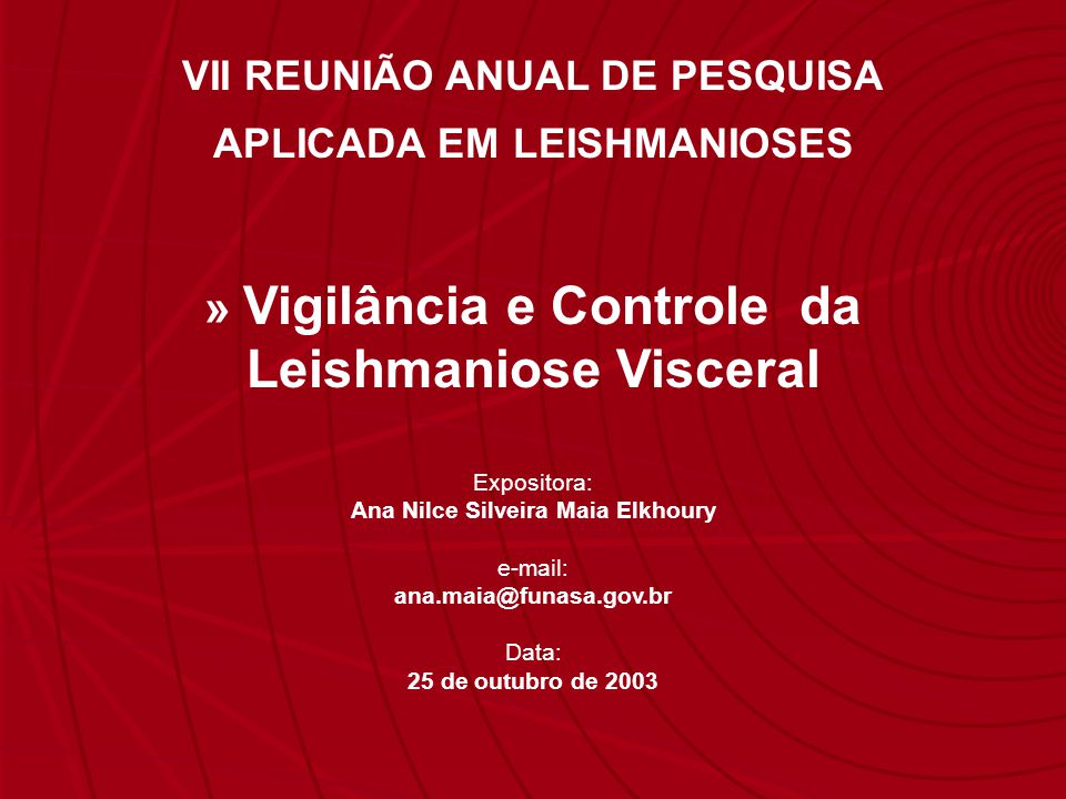 Leishmaniose Visceral