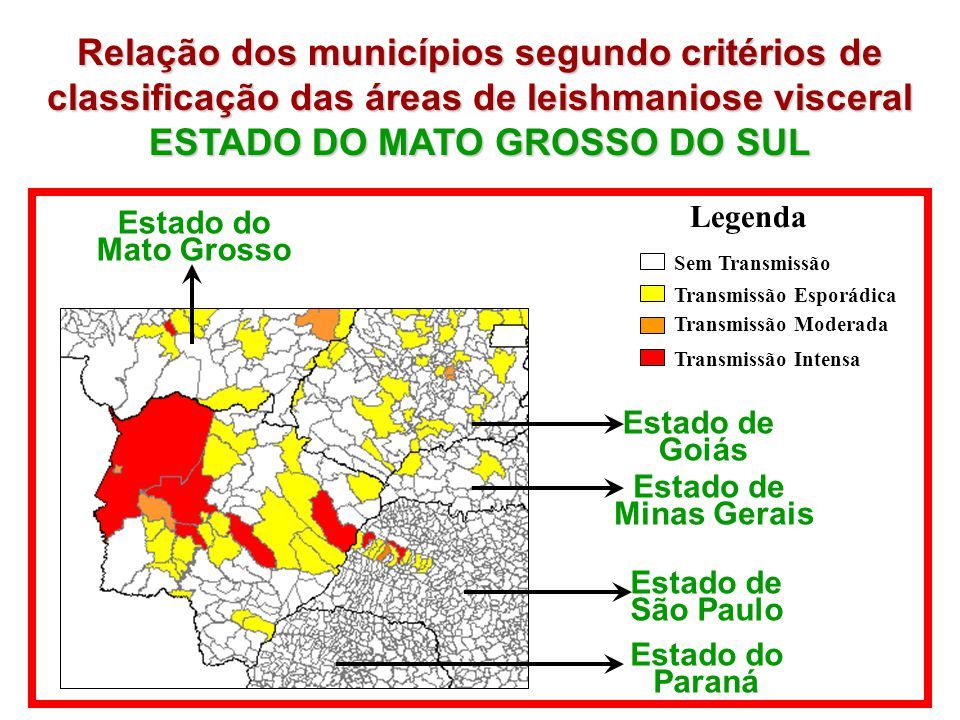 ESTADO DO MATO GROSSO DO SUL