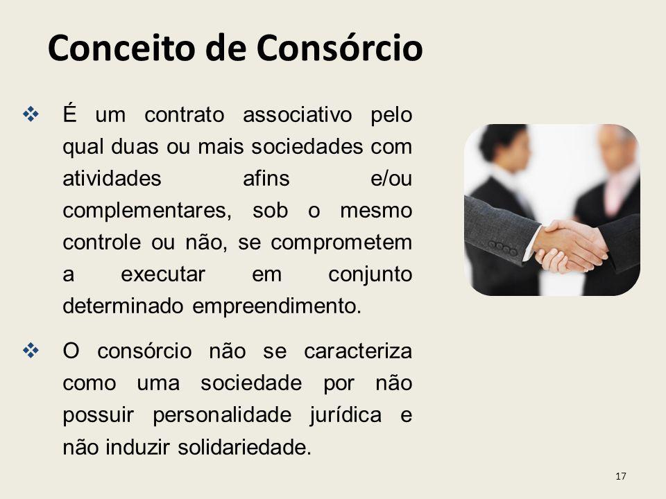 Conceito de Consórcio
