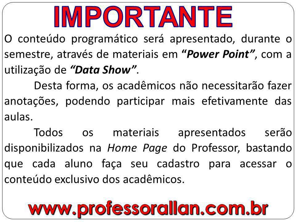 www.professorallan.com.br IMPORTANTE