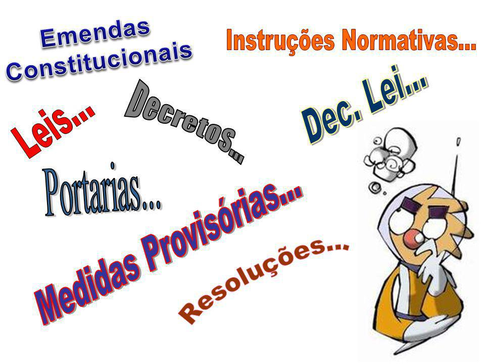 Instruções Normativas...