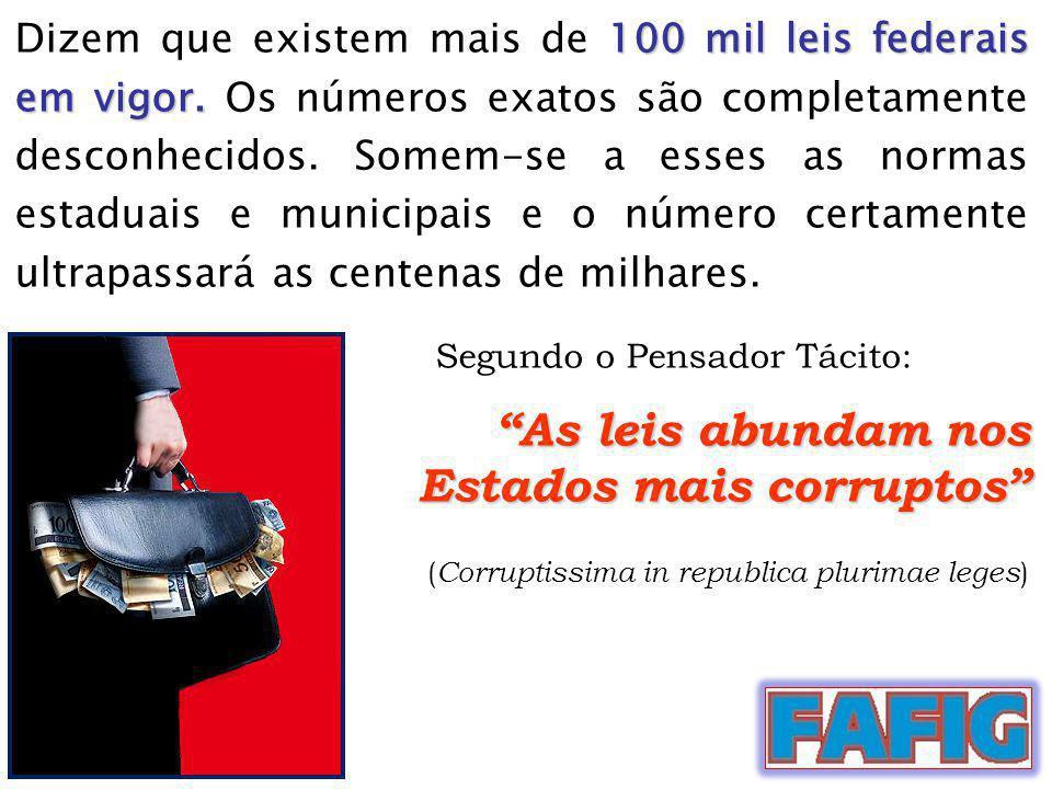 Estados mais corruptos