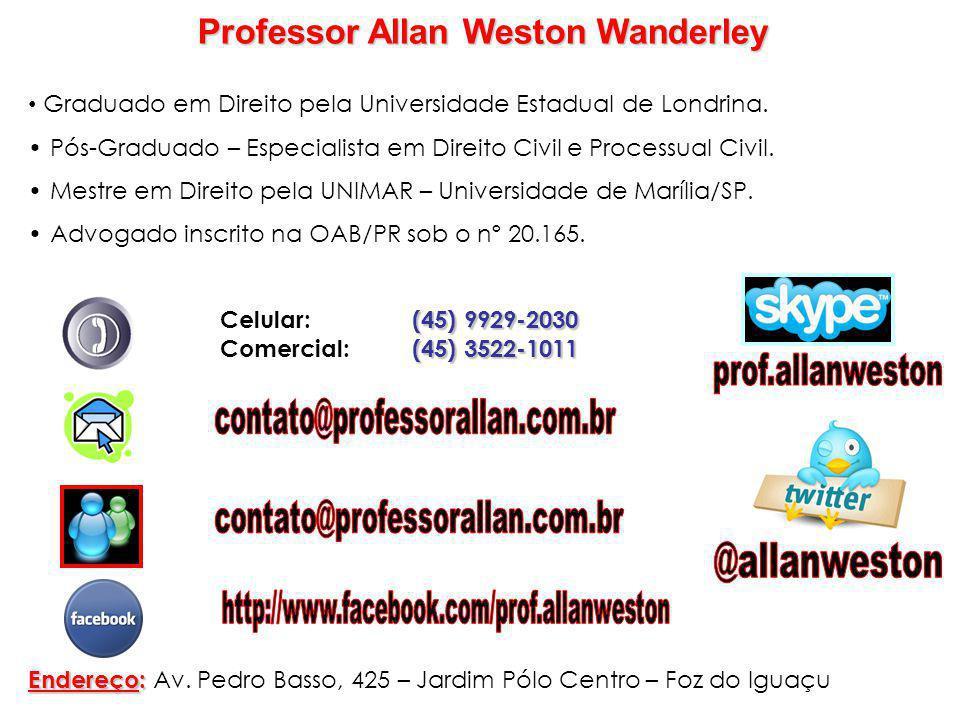 Professor Allan Weston Wanderley