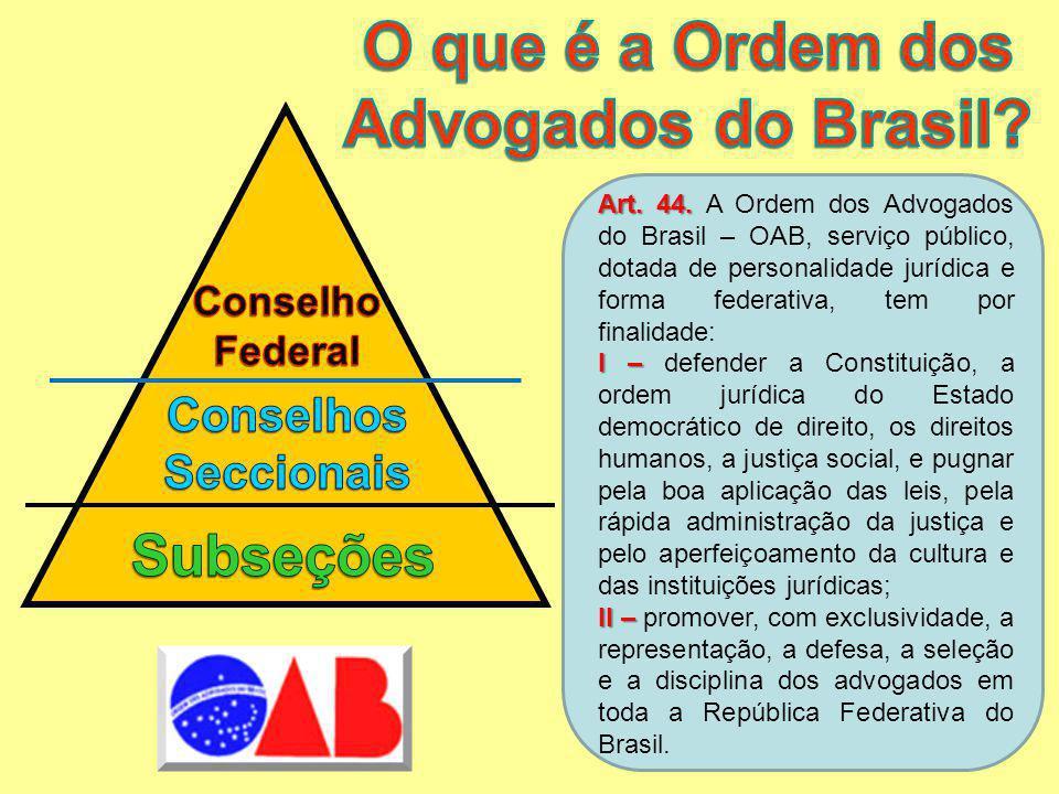 O que é a Ordem dos Advogados do Brasil