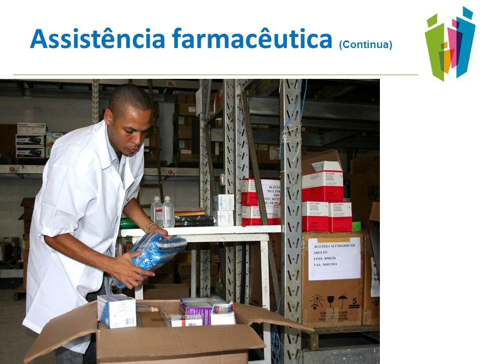 Assistência farmacêutica (Continua)