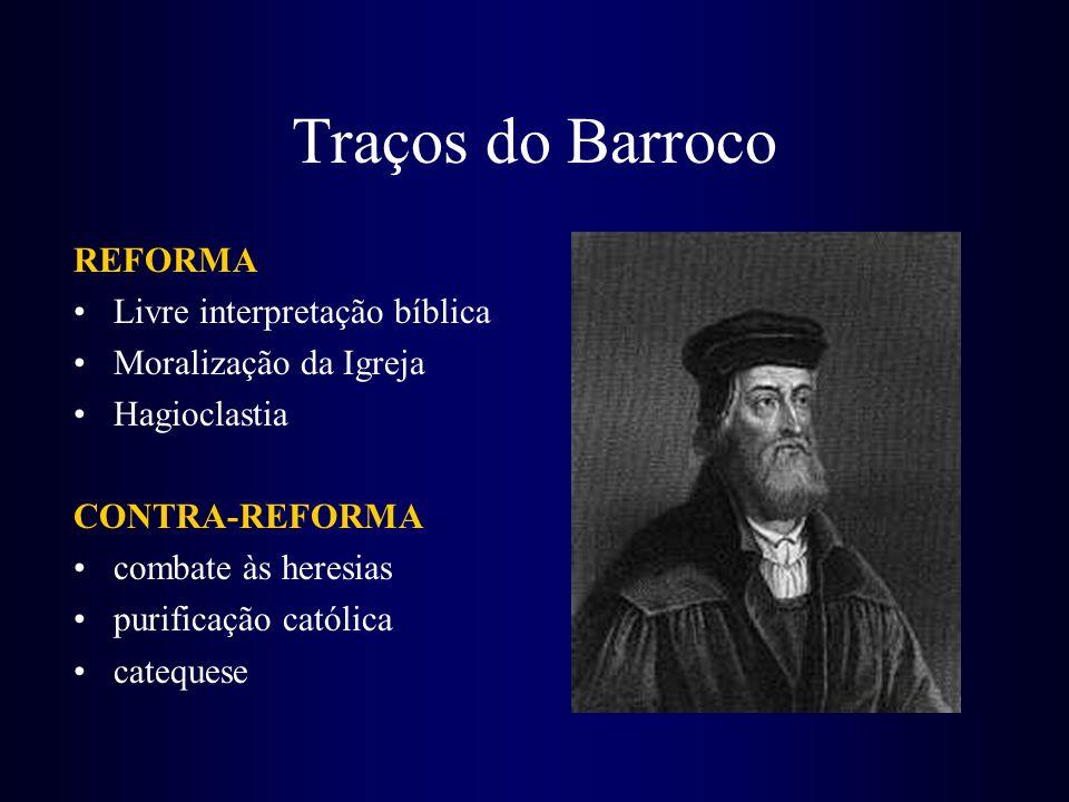 Traços do Barroco REFORMA Livre interpretação bíblica
