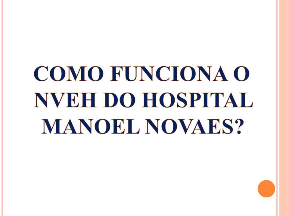 COMO FUNCIONA O NVEH DO HOSPITAL MANOEL NOVAES
