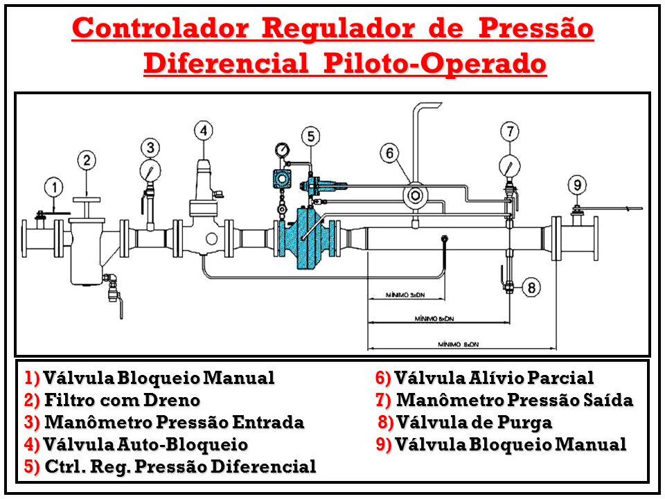Controlador Regulador de Pressão Diferencial Piloto-Operado