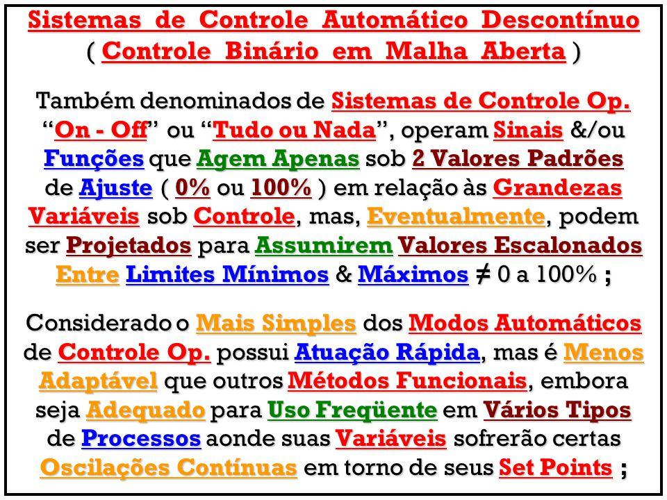 Sistemas de Controle Automático Descontínuo
