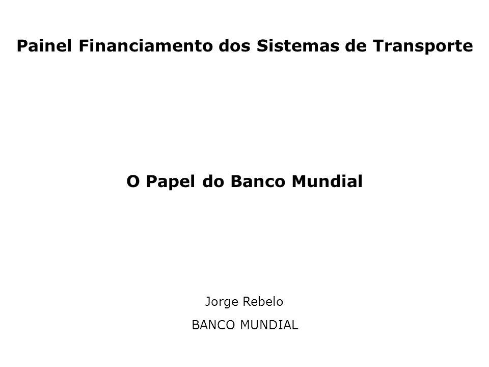 Painel Financiamento dos Sistemas de Transporte