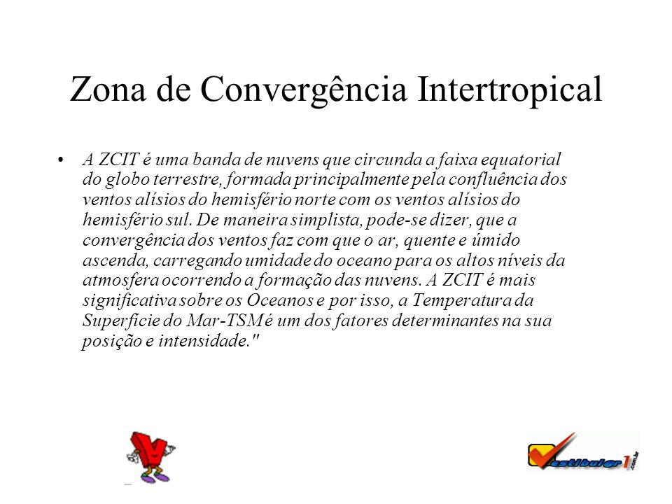 Zona de Convergência Intertropical