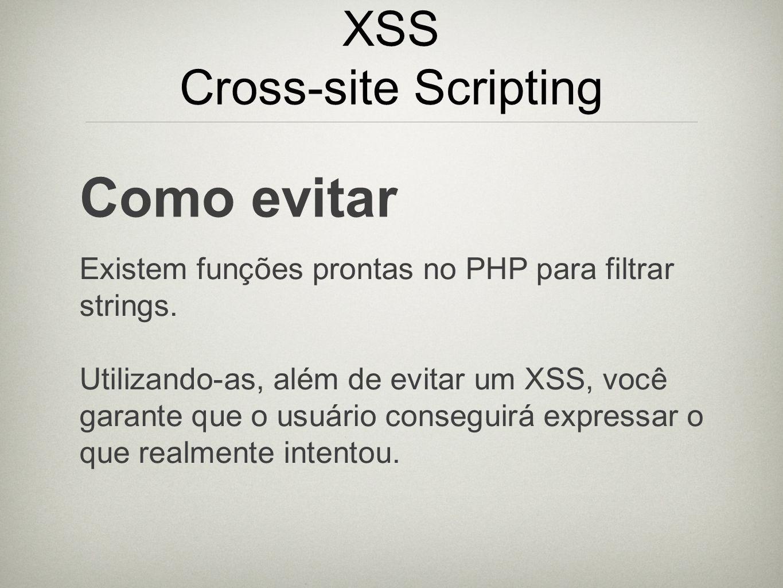 XSS Cross-site Scripting