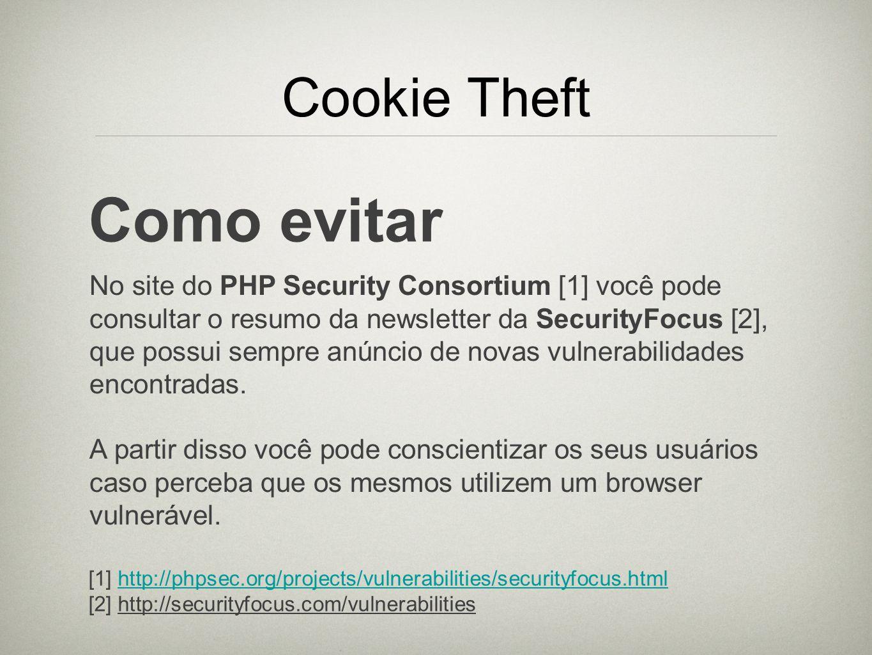 Como evitar Cookie Theft